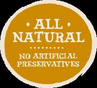 All Natural Badge